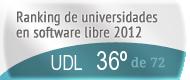 La UDL en el Ranking de universidades en software libre. PortalProgramas.com