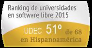 La UDEC en el Ranking de universidades en software libre. PortalProgramas.com