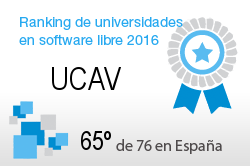 La UCAV en el Ranking de universidades en software libre. PortalProgramas.com