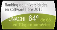 La UNACHI en el Ranking de universidades en software libre. PortalProgramas.com