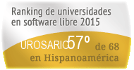 La UROSARIO en el Ranking de universidades en software libre. PortalProgramas.com