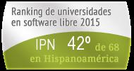 La IPN en el Ranking de universidades en software libre. PortalProgramas.com