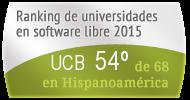 La UCB en el Ranking de universidades en software libre. PortalProgramas.com