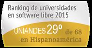 La UNIANDES en el Ranking de universidades en software libre. PortalProgramas.com