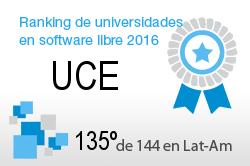 La UCE en el Ranking de universidades en software libre. PortalProgramas.com