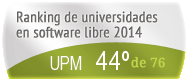 La UPM en el Ranking de universidades en software libre. PortalProgramas.com