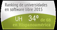 La UH en el Ranking de universidades en software libre. PortalProgramas.com