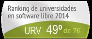La URV en el Ranking de universidades en software libre. PortalProgramas.com