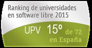 La UPV en el Ranking de universidades en software libre. PortalProgramas.com