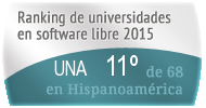 La UNA en el Ranking de universidades en software libre. PortalProgramas.com