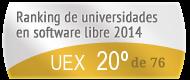 La UEX en el Ranking de universidades en software libre. PortalProgramas.com