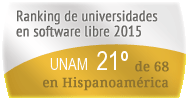 La UNAM en el Ranking de universidades en software libre. PortalProgramas.com