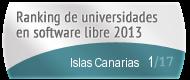 Islas Canarias en el Ranking de universidades en software libre. PortalProgramas.com