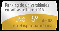 La UNC en el Ranking de universidades en software libre. PortalProgramas.com
