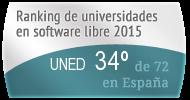 La UNED en el Ranking de universidades en software libre. PortalProgramas.com