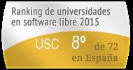 La USC en el Ranking de universidades en software libre. PortalProgramas.com