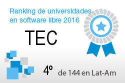 La TEC en el Ranking de universidades en software libre. PortalProgramas.com