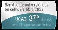 La UCAB en el Ranking de universidades en software libre. PortalProgramas.com