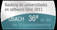 La USACH en el Ranking de universidades en software libre. PortalProgramas.com