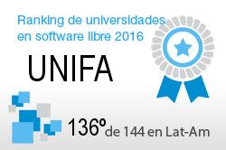 La UNIFA en el Ranking de universidades en software libre. PortalProgramas.com