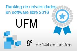 La UFM en el Ranking de universidades en software libre. PortalProgramas.com