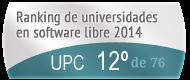 La UPC en el Ranking de universidades en software libre. PortalProgramas.com