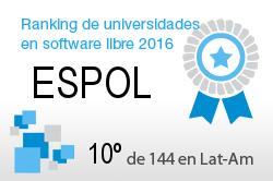 La ESPOL en el Ranking de universidades en software libre. PortalProgramas.com