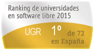 La UGR en el Ranking de universidades en software libre. PortalProgramas.com