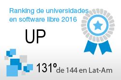 La UP en el Ranking de universidades en software libre. PortalProgramas.com