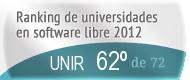La UNIR en el Ranking de universidades en software libre. PortalProgramas.com