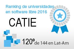 La CATIE en el Ranking de universidades en software libre. PortalProgramas.com