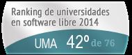 La UMA en el Ranking de universidades en software libre. PortalProgramas.com