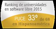 La PUCE en el Ranking de universidades en software libre. PortalProgramas.com