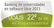 La UCAJS en el Ranking de universidades en software libre. PortalProgramas.com