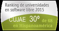 La CUJAE en el Ranking de universidades en software libre. PortalProgramas.com