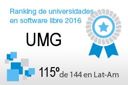 La UMG en el Ranking de universidades en software libre. PortalProgramas.com