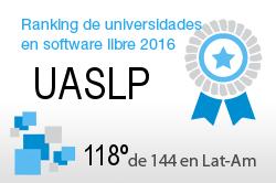La UASLP en el Ranking de universidades en software libre. PortalProgramas.com
