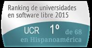 La UCR en el Ranking de universidades en software libre. PortalProgramas.com
