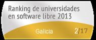 Galicia en el Ranking de universidades en software libre. PortalProgramas.com