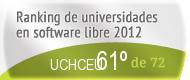 La UCHCEU en el Ranking de universidades en software libre. PortalProgramas.com