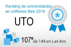 La UTO en el Ranking de universidades en software libre. PortalProgramas.com