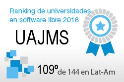 La UAJMS en el Ranking de universidades en software libre. PortalProgramas.com