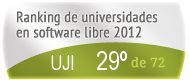 La UJI en el Ranking de universidades en software libre. PortalProgramas.com