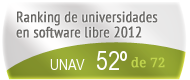 La UNAV en el Ranking de universidades en software libre. PortalProgramas.com