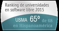 La USMA en el Ranking de universidades en software libre. PortalProgramas.com
