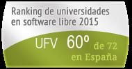 La UFV en el Ranking de universidades en software libre. PortalProgramas.com