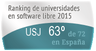 La USJ en el Ranking de universidades en software libre. PortalProgramas.com
