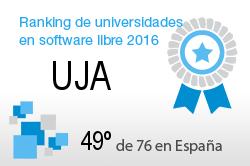 La UJA en el Ranking de universidades en software libre. PortalProgramas.com