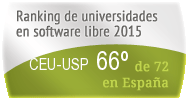 La CEU-USP en el Ranking de universidades en software libre. PortalProgramas.com