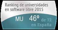 La MU en el Ranking de universidades en software libre. PortalProgramas.com